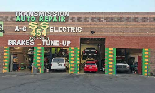 ss 454 auto repair shop